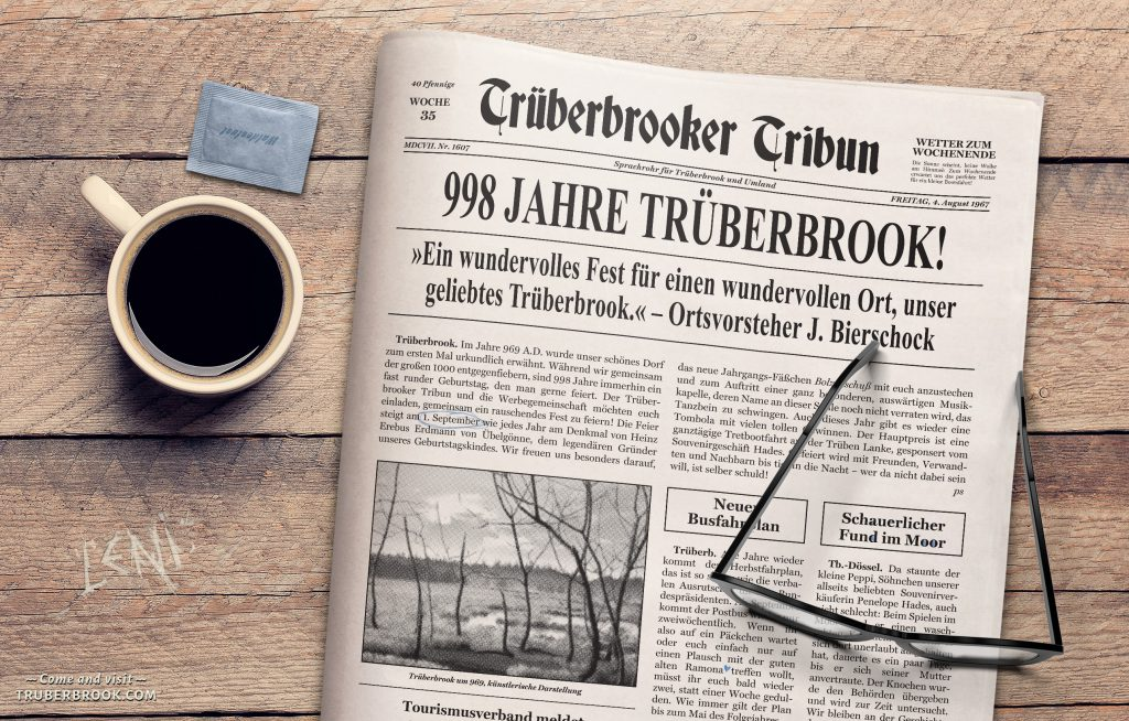 Trüberbrook Tribune Issue #1 Deutsch