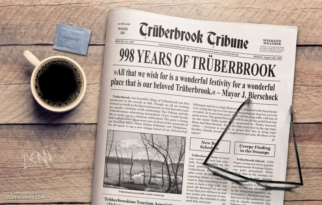 Trüberbrook Tribune Issue #1